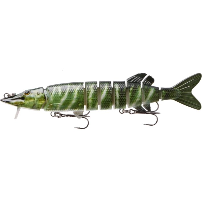 Shallow Solft-jointed Multisection Lure with Vane (MS2420V)